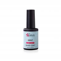 Molekula nails Цветное каучуковое базовое покрытие color rubber base coat (мятный)